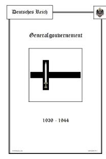 Generalgouvernement 1938-1944